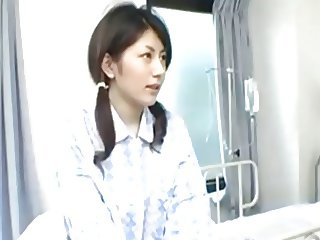 Cute Jap Slut Takes Two Cocks In The Hospital 420