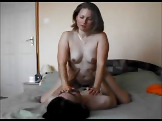 Curvy wife on real homemade