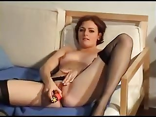 Fantastic Dildo Insertion
