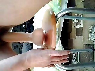Real Home video - Milf Dildo Fresh wet cum