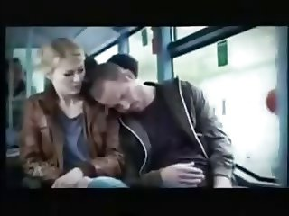 Horny Girl on bus