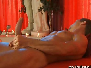 Gay erotic self massage