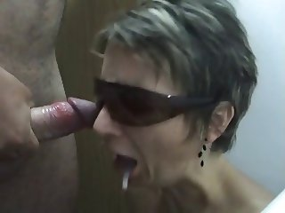 Hungarian wife sucking and don't like the sperm