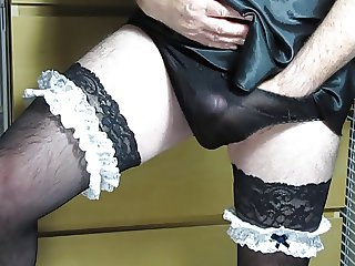 Translucent Comes in Sheer Black Panties