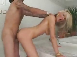 blonde with blue eyes fucked deep