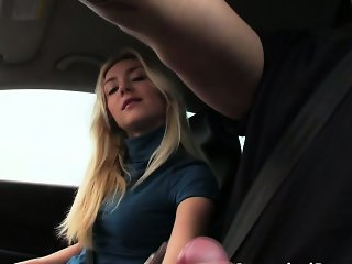 Gorgeous Victoria gets banged by the guy