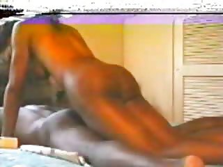 Black Shemale Stretches Twink's Asshole!