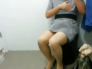 Pantyhose Masturbation