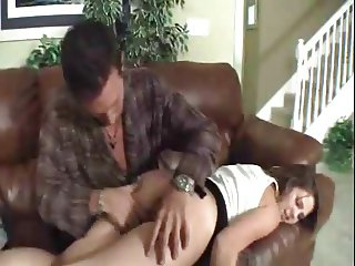 Spanked by NOT daddy