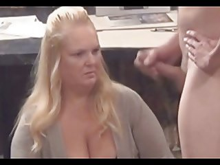Girl watching cock 7