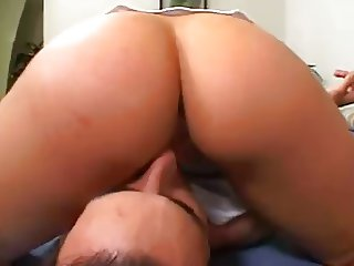Face Sittting With Her Fat Ass