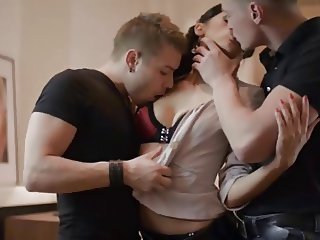 Anita in a threesome with two buddies