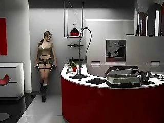 Lara Croft Sex Tape - Tomb Raider - Animated