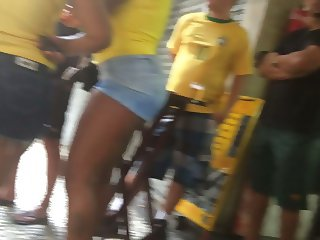 Brazilian ass during the world cup RIO