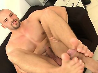 Lubricous blow job job for gay stud