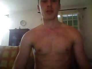 Str8 Athletic French Boy Shows His Very Big Cock, Bubble Ass