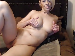 Hot milf 1st smoke and chat than sex