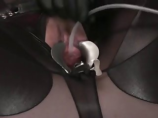 Pussy catheter insertion