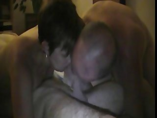 husband films his wife suck his friend dick and help her