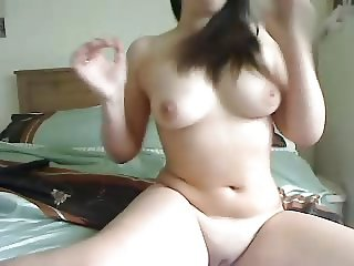 British girl quickly stripping nude for a masturbation