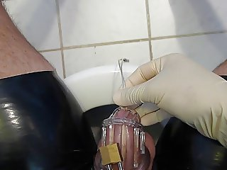Sounding, latex, chastity