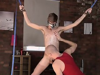 Gay twinks Twink guy Jacob Daniels is his recent meal, bound