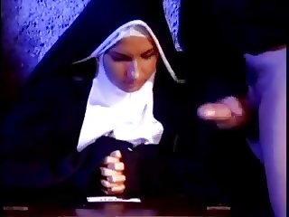 Cock crazed nun gives me the best blowjob of my life