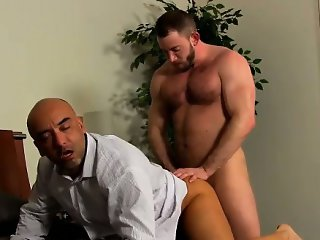 Gay video Colleague Butt Banging!