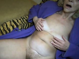 Nasty blonde slut gets horny part6