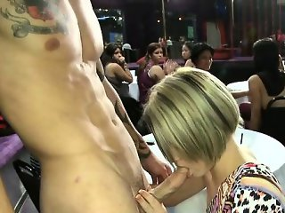 Trying out strippers hard pecker