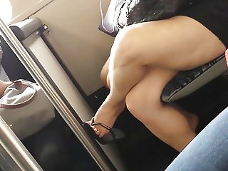 Bare Candid Legs - BCL#057