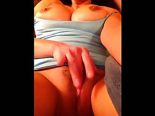 Dirty Talking Milf playing with herself