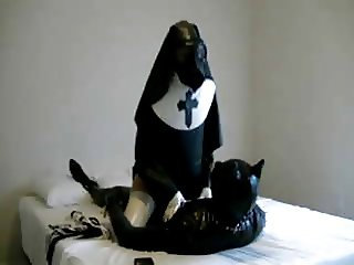 Nun and Puppy Play
