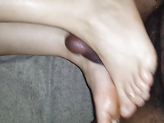 Valentine's Day Footjob