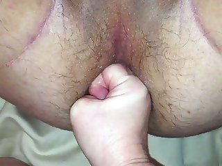Wife trying to fist me