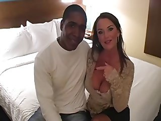MILF in RHT Nylons fucked by Black Stud