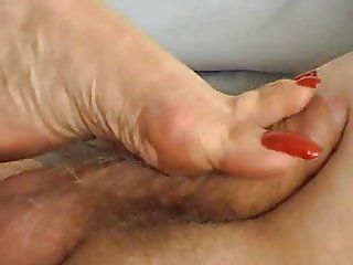 Lady Annabelle - lick worshipping mules shoejob footjob