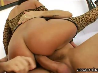 Cler and Lioness take turns anal screwed