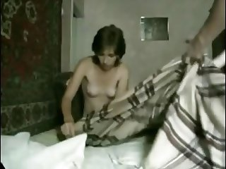 Amateur couple oral sex and fuck homemade production