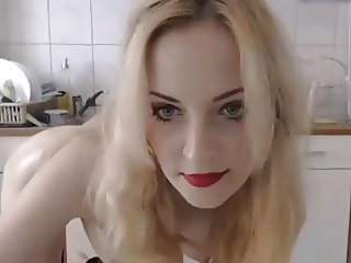 Big ass blonde anal toys