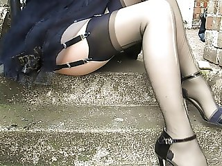 Black Stockings In The Alley
