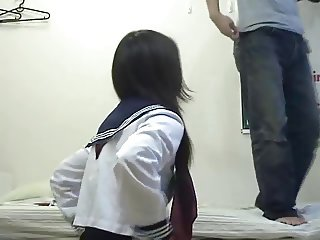 Pick Up Fuck Japanese Schoolgirl Who Has Orgasms Too Easily