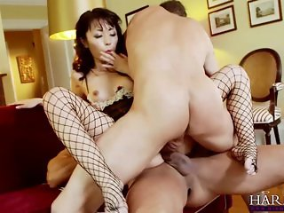 HARMONY VISION Asian babe Marica Hase Anal DP
