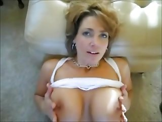 Hot MILF Breast Ejaculation