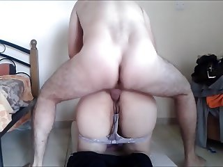 Horny housewife insists on cumming inside her