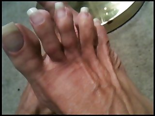 beautifully naked long toenails