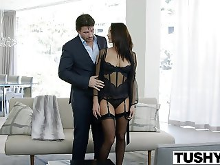 TUSHY Big Tit Babe Alektra Blue Assfucked by Huge Cock