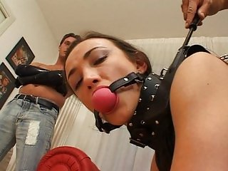 Latex double penetration
