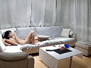 Carla Naked in Her Living Room 2015-08-03 Pt. 2