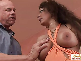 Fuckable GILF gets stretched out by a fat cock